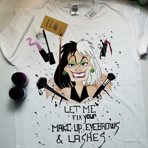 Tricouri de damă pictate